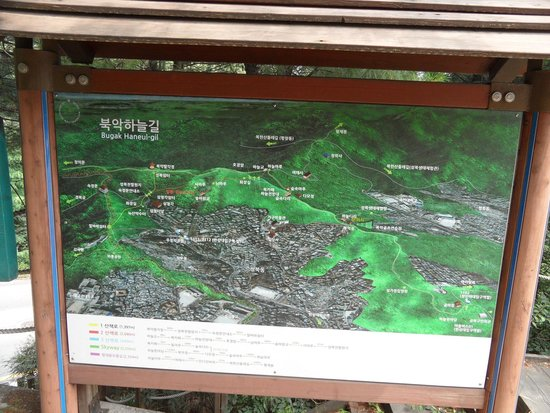 Bugaksan Seoul Fortress: Map