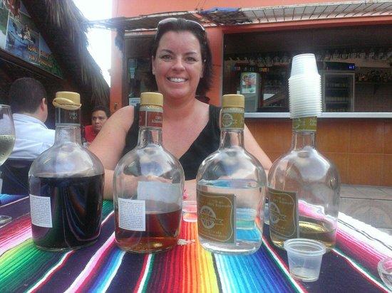 Mr. Lionso Playa Bruja: Tequila tasting!