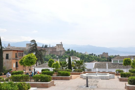Albayzin: Alhambra afar