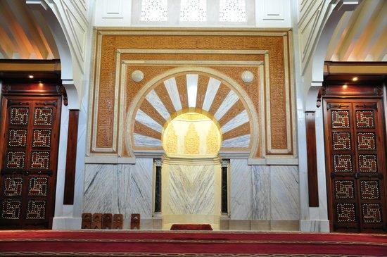 Albayzin: Inside Granada mosque