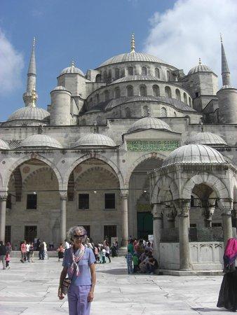 Historic Areas of Istanbul: Mezquita Azul