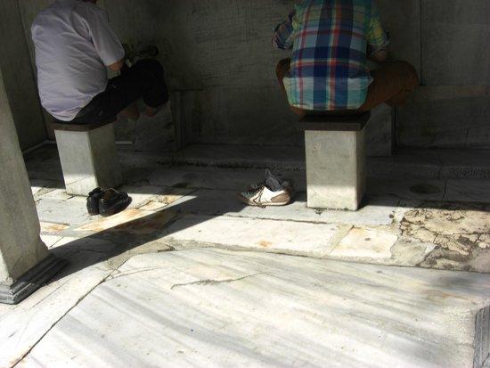 Historic Areas of Istanbul: Piletas para ablucion,Mezquita Azul