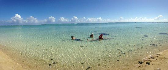 Aitutaki Beach Villas: Front of Bungalow