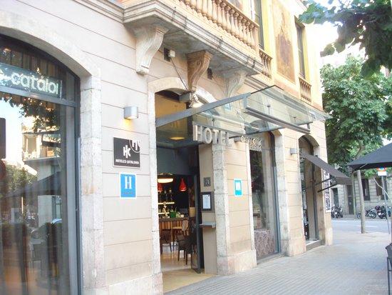 Catalonia Eixample 1864: Entrance
