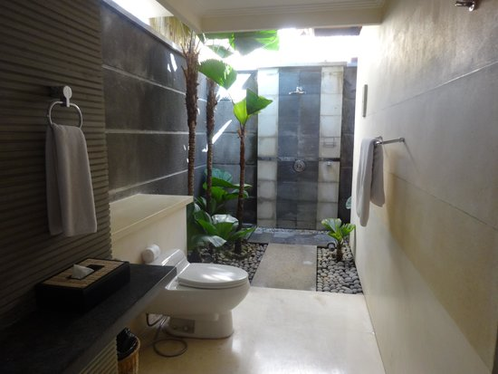 The Khayangan Villas: love the toilet