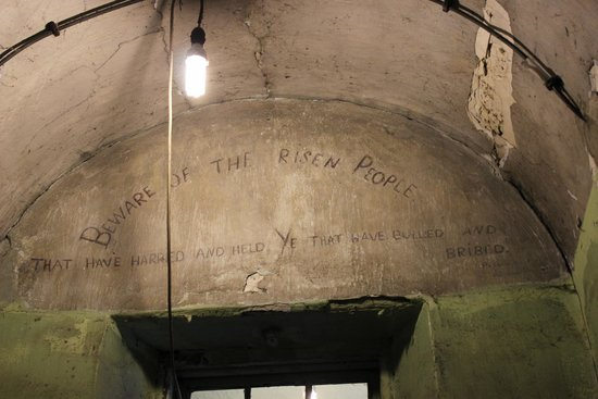 Kilmainham Gaol: Written from inmates