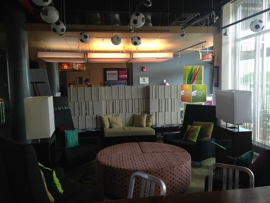 Aloft San Jose Hotel: Rest Area