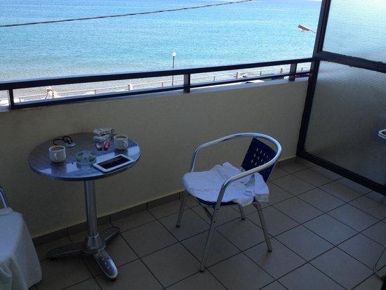 Hotel Medusa: Balkon