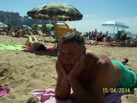 Playa de Levante: time to go home
