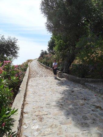 Acropolis of Lindos: Omhoog, niet lastig.