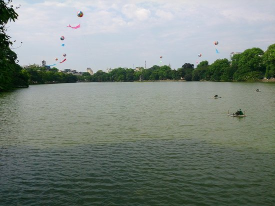 Lake of the Restored Sword (Hoan Kiem Lake): View of Hoan Kiem Lake