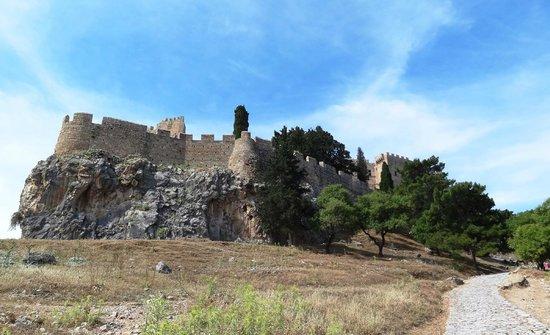 Acropolis of Lindos: Brute kracht!