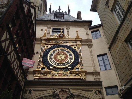 Rue du Gros Horloge : L'orologio di Rouen