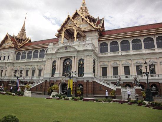 The Grand Palace: vue sur palais
