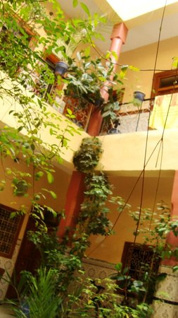 Hotel Imouzzer: Riad vu d'en bas