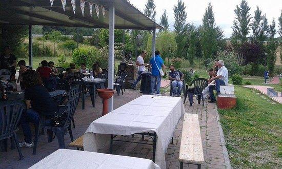 Minigolf San Cipriano: bar
