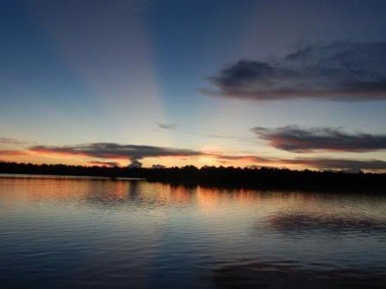 Weston Wetland Park: Sunset