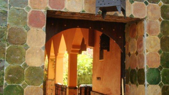 Auberge La Terrasse des Delices : Arrivée sur les chambres