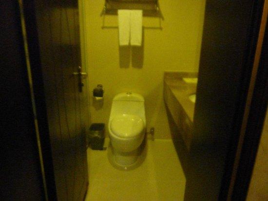 WanJia Oriental Hotel: Not too spacious bathroom