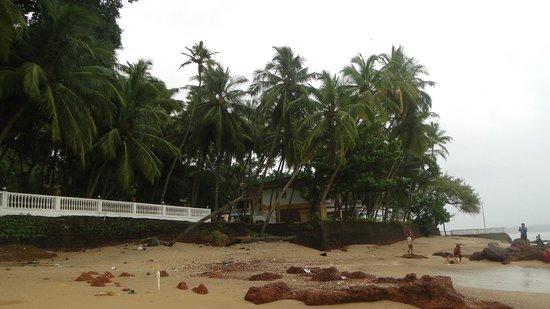 Bambolim Beach Resort: View from beach