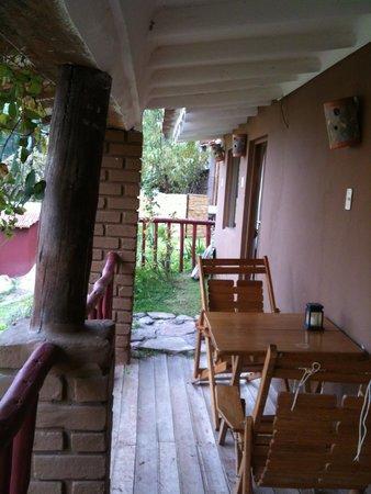 La Casa Del Conde : Our porch