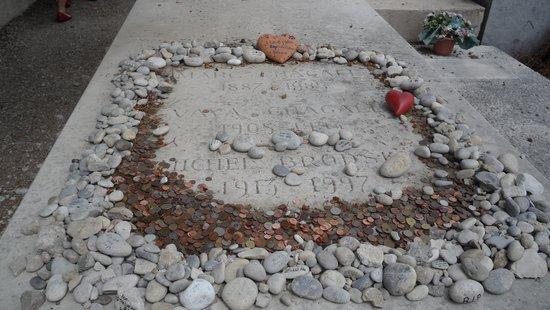 Saint-Paul de Vence : Marc Chagall's grave