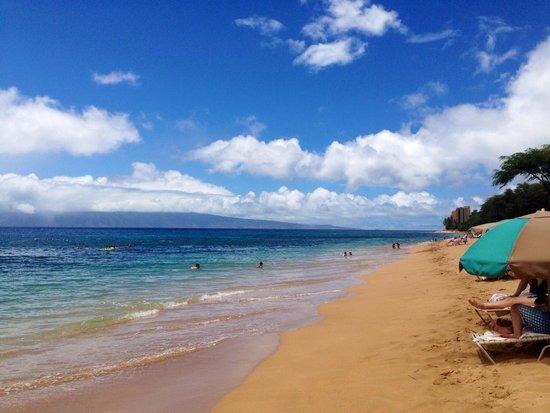 The Westin Kaanapali Ocean Resort Villas : The beach out front of the villas.