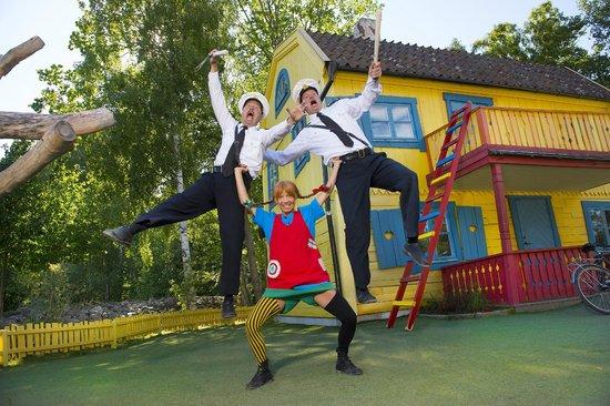 Vimmerby, Swedia: Pippi och Kling och Klang