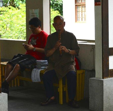 Beitou Hot Spring: beitou, local musician, opposite hot spring museum,