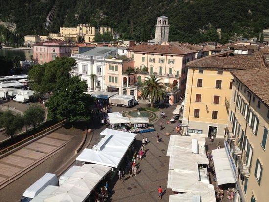 Grand Hotel Riva: Blick von der Dachterrasse