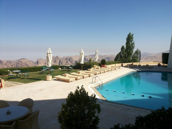 Petra Marriott Hotel : The swimming pool