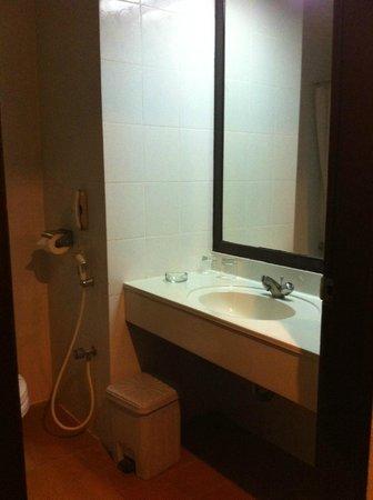 Weta International Hotel: Old and dark