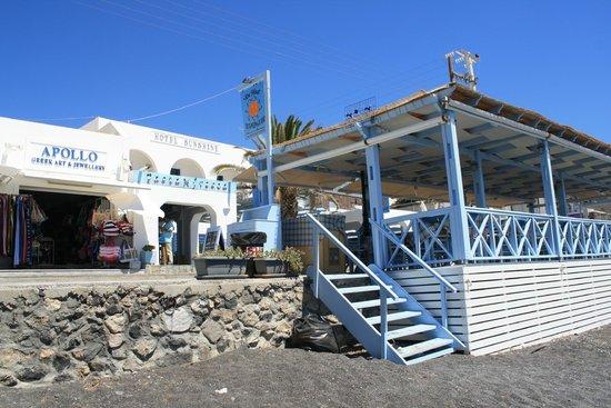Sunshine Hotel: Vista dell'Hotel e ristorante