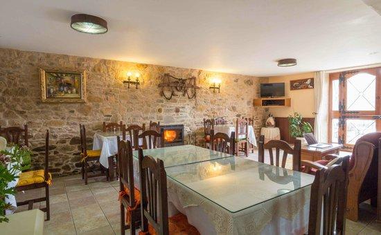 Casa de Verdes Turismo Rural: comedor