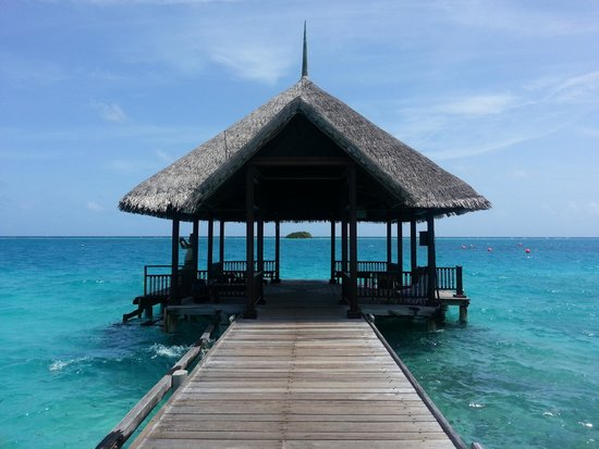 Club Med Kani : jetty