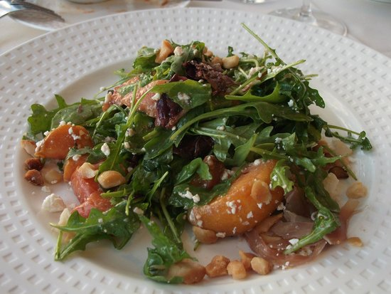 Dondero's: The Roasted Peach Salad will blow you away
