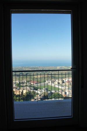 A casa di Max: il panorama dalla camera