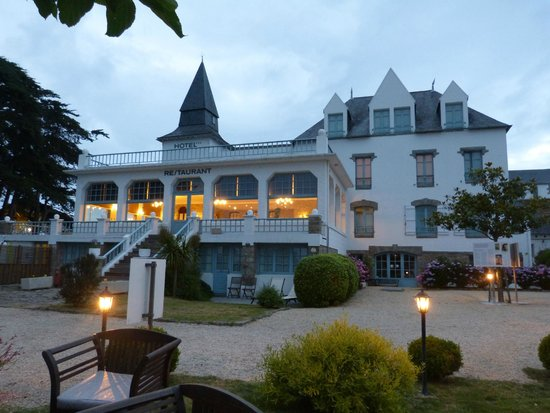 Hotel Tumulus : Vue du jardin