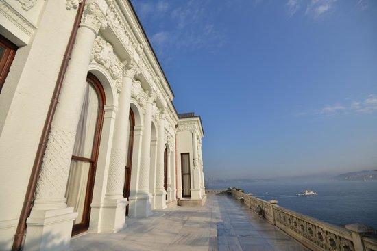 Topkapi Palace: 金角湾の眺めが綺麗でした