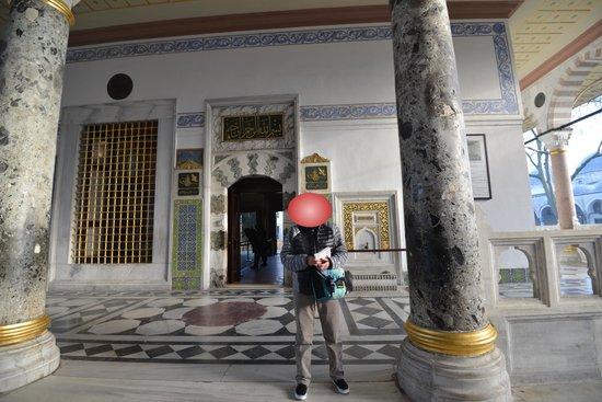 Topkapi Palace: オンシーズンはここでさえ行列がありました