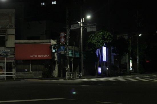 Hotel MyStays Asakusa: view across road to hotel