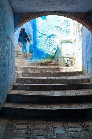 Médina : Chefchaouen Staircase