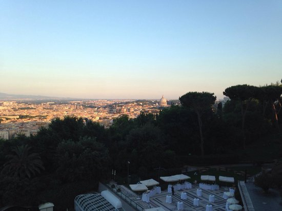 Rome Cavalieri, Waldorf Astoria Hotels & Resorts: Room view