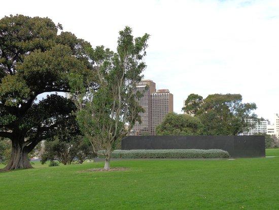 The Sydney Boulevard Hotel: l'hotel vu du parc botanique