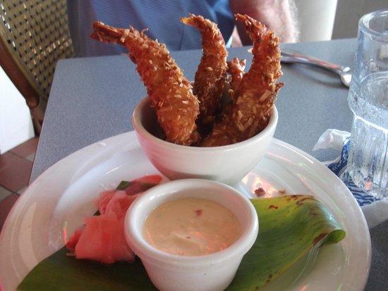 Brennecke's Beach Broiler: Coconut Shrimp Are Wonderful at Brennecke's
