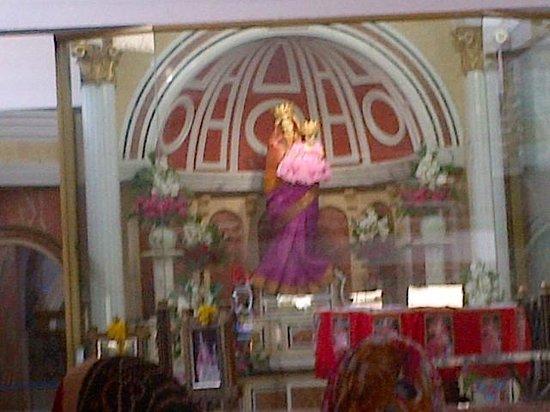 St. Mary's Basilica: saree matha