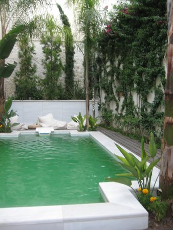 Palazzo Rimondi : Pool area located in the newer part of the hotel