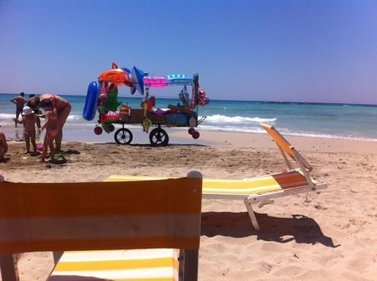 La Casarana Resort & Spa: the beach