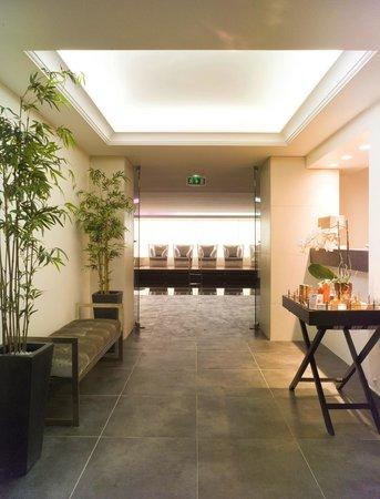 Hotel Don Cesar : Entrée du spa