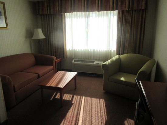 Inn & Suites At Discovery Kingdom: Couch, Chair Side of Suite, Best Western, Discovery Kingdom, Vallejo